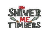 Shiver me Timbers Onesie or shirt  - Made to order