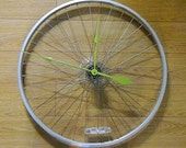 UpCycled Road Bike Wheel Bicycle Wall Clock