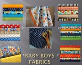 Custom Design Baby Bedding Crib Quilt and Crib skirt  Vibrant Boys Toddler Blanket Set