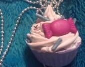 Purple Deco Cupcake