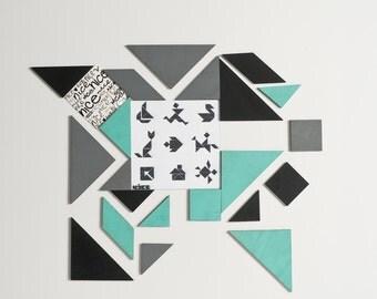 tangram magnets