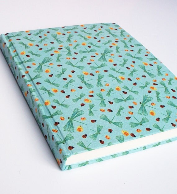 Blue Dragonflies Sketchbook - Daler Rowney Paper - 11 x 8.5 inch