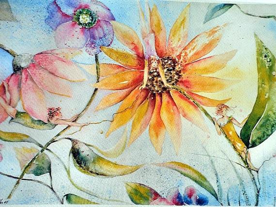 Art Print Spring,  8.5x11, dlrs29