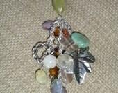 Multi Colored Gemstone Necklace
