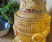 Robot Cookie Jar - Vintage Mid Century Japanese Cookie Jar