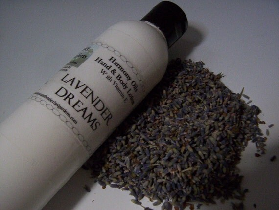 Hand & Body Lotion - Lavender Dreams - Calling all Lavender lovers, dry skin lotion, chapped skin, soothing lotion - 4 oz. bottle