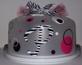 Zebra Personalized/Monogrammed Cake Carriers