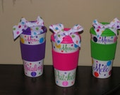 5 Coffee Travel Mugs Makes great Holiday Gifts, Teachers gifts, Girls weekend trip, Bridesmaids gifts, Best Friend