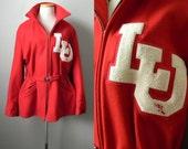 1970s Lamar University Beaumont Lettermans Jacket