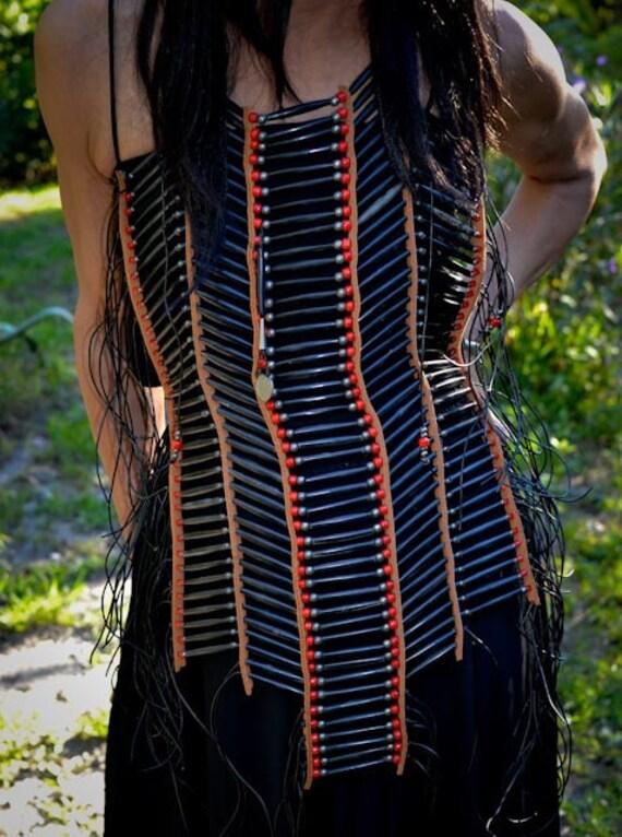 Native American Warrior Breastplate jewelry