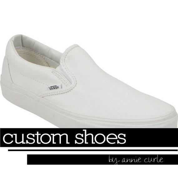 Custom, Hand-Painted Shoes (Vans)