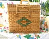 Picnic Basket or Decorative Storage Hamper