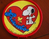 1960s Snoopy Patch -  Vintage Patches -Collectable - Woodstock -Peanuts - ThePirates