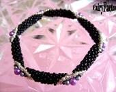 Black Winter Night - Cuff/Bracelet PATTERN