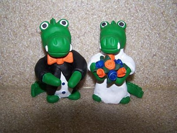 florida gator wedding cake toppers florida gator wedding cake topper 14326