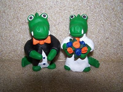 florida state wedding cake toppers florida gator wedding cake topper 14327