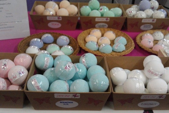Mega Bath Bomb Multi Pack Half Dozen, Large Bath Bombs- Pick Your Scent Multi Pack 6 Pack, Holiday Gifts, Stocking Stuffers
