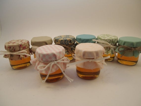 85 Wedding Favor Jars Custom Designed and Hand-made Custom Order for angelagallucci (full payment)