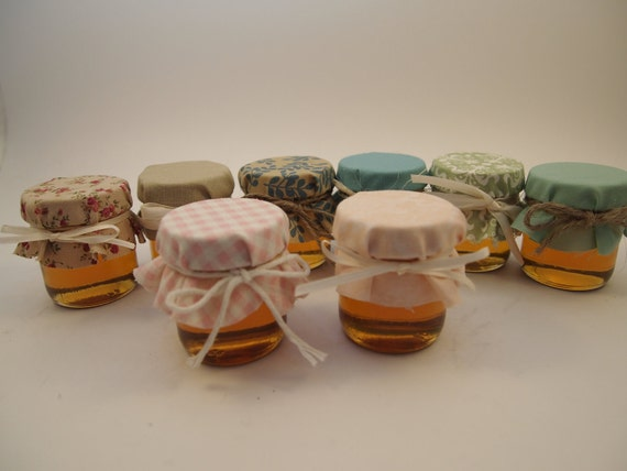 125 Wedding Favor Jars with lace overlay  Custom Order for (matkin1)