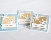 Let it Snow - Christmas Gift Tags (set of 3)