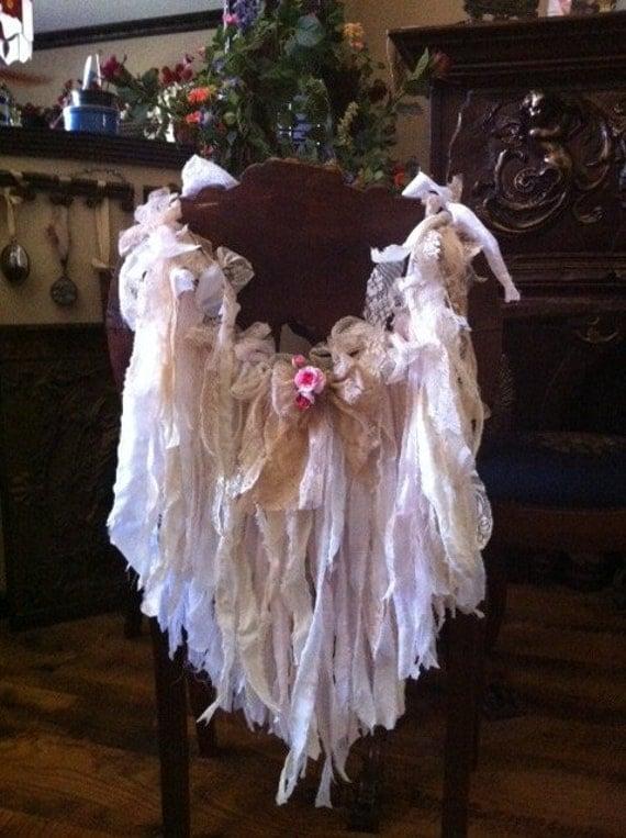 Lace Chair Garland  Romantic Prairie