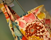 Full-coverage nursing cover for breastfeeding moms, multicolor floral--ready to ship