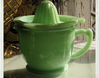 Mint Green Cup Measure