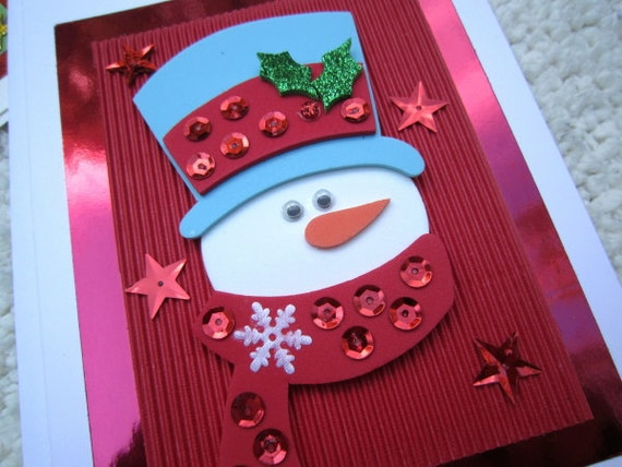 Deluxe Boxed Set of 10 Assorted Handmade Christmas Cards