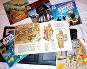 Star Wars Jedi / Empire / Droids vintage read-along 6 books and 3 tapes set