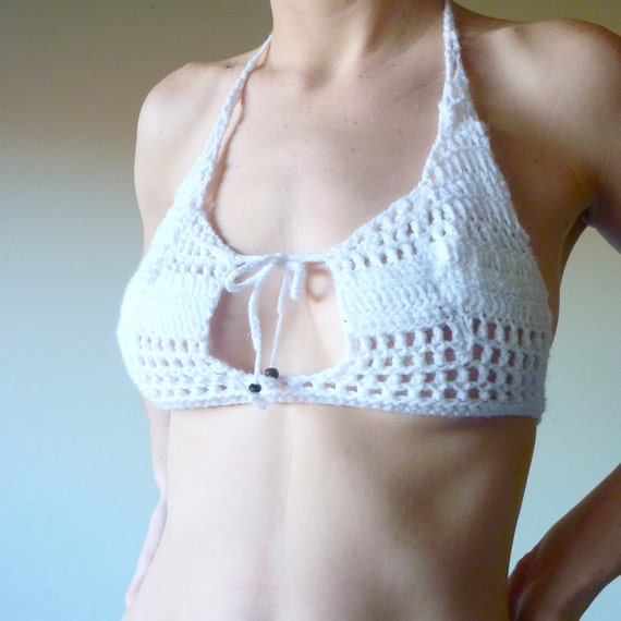 Crochet bikini see thru