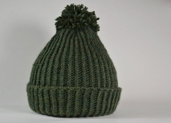 Mike Nesmith Inspired Knit Wool Hat
