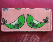 Reserved Birdie Checkbook Wallet Cover