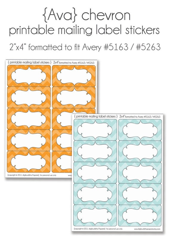 Unavailable listing on etsy for 2x4 shipping label template
