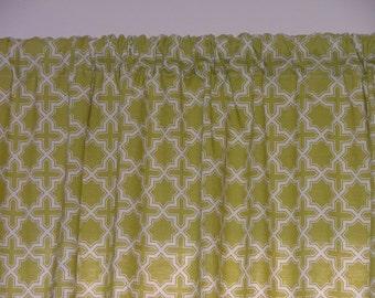 Custom Valance, You Choose the Fabric