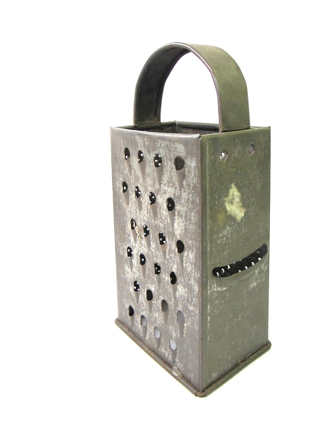 Antique Metal Grater Or Shredder Country By Theoldtimejunkshop
