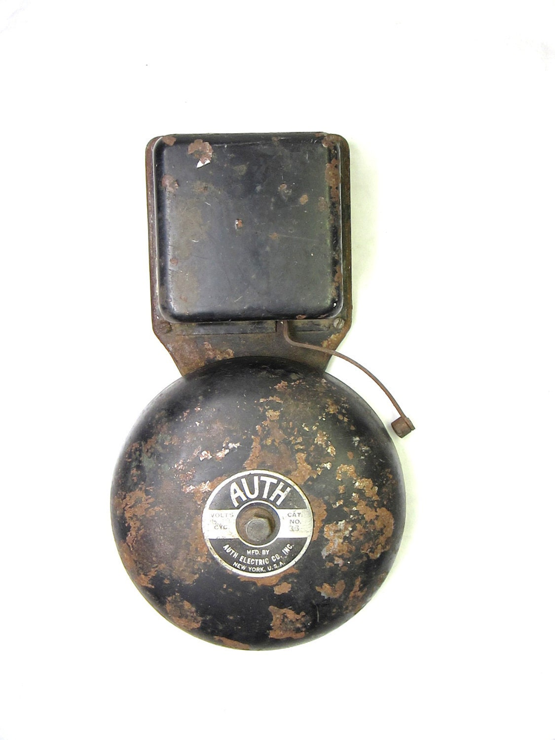 Reserved For Jm Antique 1920s Electric School Bell Or Fire