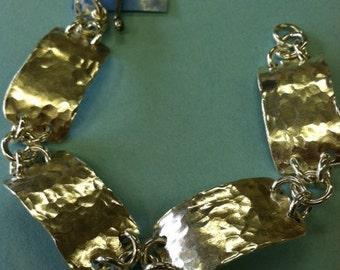 Sterling Silver Plate Bracelet