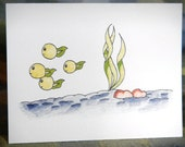 Tadpoles Notecard with envelope