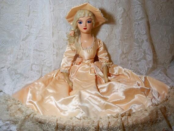 Vintage Boudoir Doll. So Lovely. Price marked down