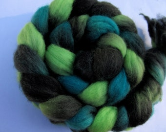 Area 51 Hand Dyed Merino Top (roving) 3.9 oz Spinning Felting Free U.S. Shipping