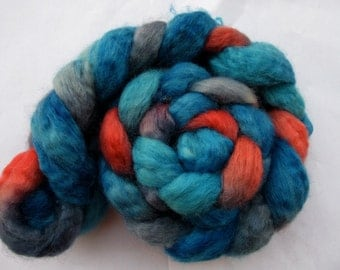 The Great Gonzo BFL Spinning Top (roving) 4.1 oz Free U.S. Shipping