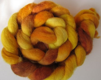 The Speckled Band Shetland Combed Spinning Top (roving) 4.8 oz Free U.S. Shipping