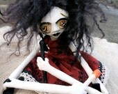 Goth Art Doll OOAK Blaire