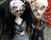 Zombie and Day of the Dead Cake Toppers
