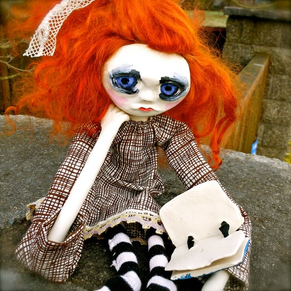 Weird Art Doll Attic Girl Sabine