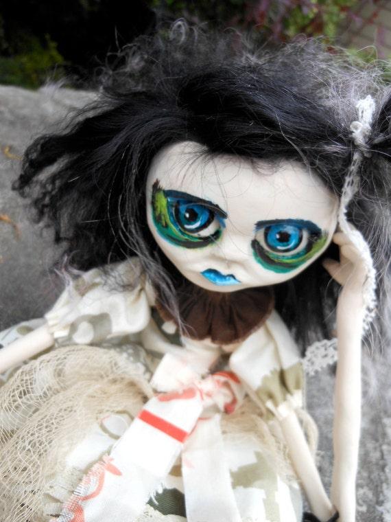 Gothic Art Doll Sapphire
