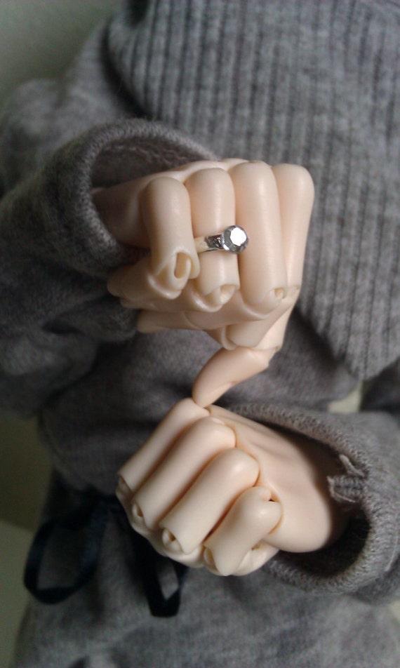 Single Setting Rings for 60cm female BJDs