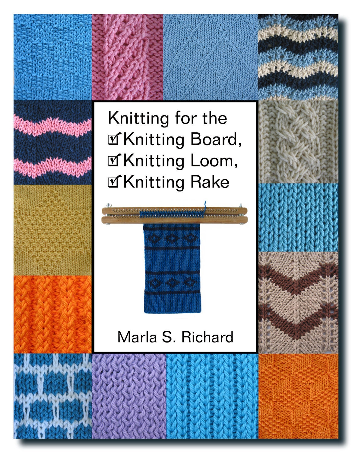 Loom Knitting Book : Knitting for the board loom