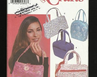 Simplicity 5968   Handbags Purses and Tote Bags