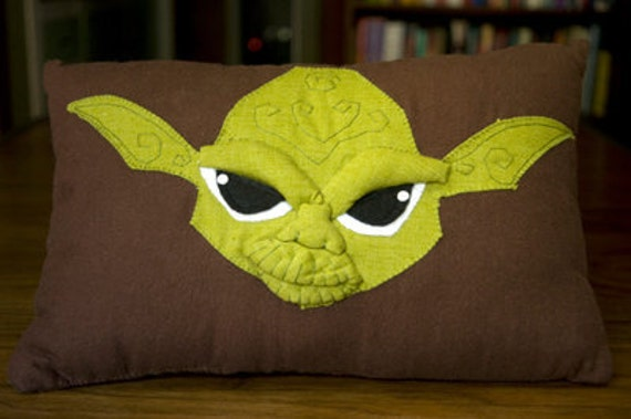 Yoda Lightsaber Pillow